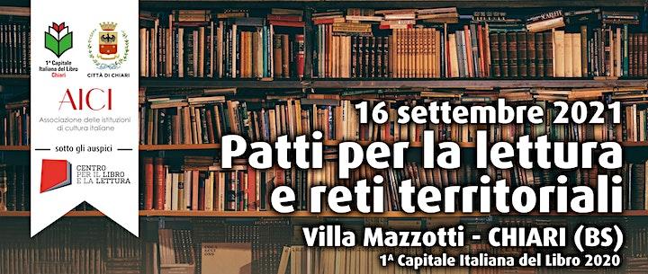 Immagine Patti per la lettura e reti territoriali