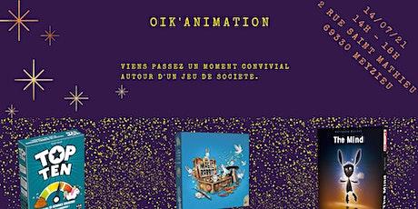 Oik'Animation (Magic Rabbit) billets