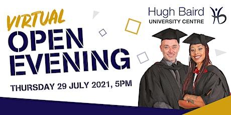 Hugh Baird University Centre Virtual Open Evening tickets