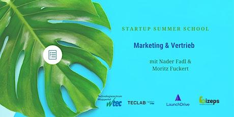 Startup Summer School: Dein perfektes Marketing- und Vertriebskonzept Tickets