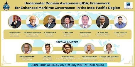 Underwater Domain Awareness (UDA) Framework for Enhanced Maritime Governanc tickets
