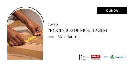 Minicurso Marco da Moda (AGO/2021 - RECIFE) - PROCESSOS DE MODELAGEM ingressos