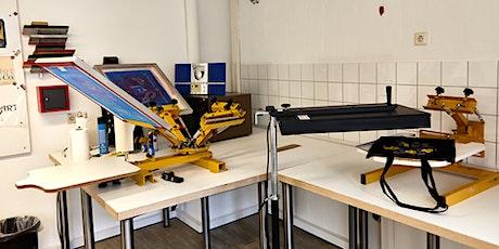 Siebdruck Workshop im Aktivitetshuset Tickets