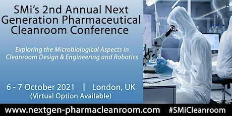 SMi's 2nd Annual Next Generation Pharmaceutical Cleanroom tickets