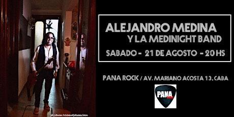 Alejandro Medina y La Medinight Band en concierto entradas