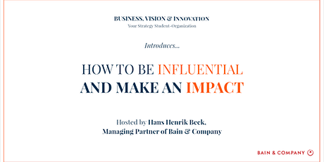 How To Be Influential & Make an Impact tickets