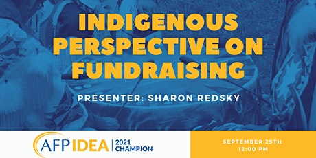 Indigenous Perspective on Fundraising tickets