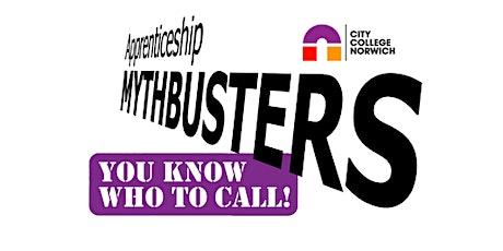 Busting Apprenticeship Myths tickets
