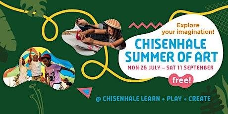 Chisenhale Summer of Art: Let's Dance - Mini Movers Workshop (Ages 2 -5) tickets