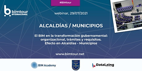 Jornada BIM para Alcaldías y Municipios entradas