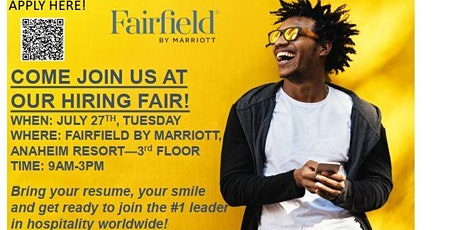 Fairfield by Marriott, Anaheim Resort Hiring Event tickets