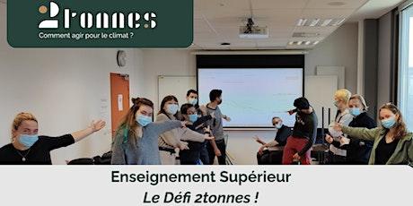 Découvrez le Défi 2tonnes pour l'enseignement supérieur en France billets
