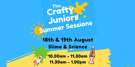 Slime & Science :  The Crafty Juniors Summer Sessions tickets