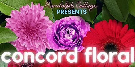 Randolph College Presents Concord Floral tickets