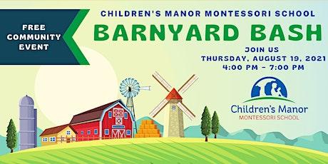Barnyard Bash  - Children's Manor Montessori Bel Air tickets