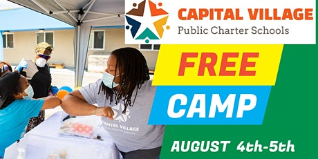 FREE TWO-HALF DAY CAMPS @CAPITAL VILLAGE PCS tickets