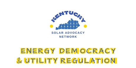 Energy Democracy & Utility Regulation tickets