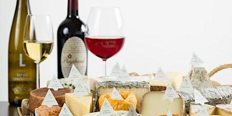 Kopie von Online Tasting für Käse & Wein tickets