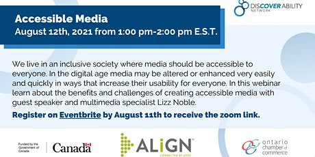 Accessible Media tickets