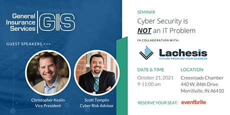 SEMINAR: Cyber Security is NOT an IT Problem tickets