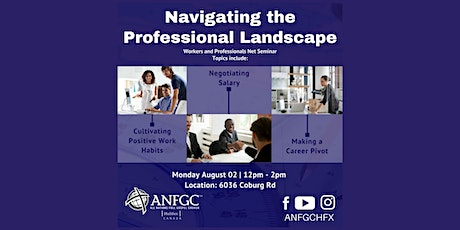 Navigating the Professional Landscape tickets