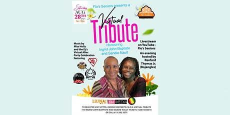 A virtual tribute to Ingrid John-Baptiste and Sandie Nault tickets