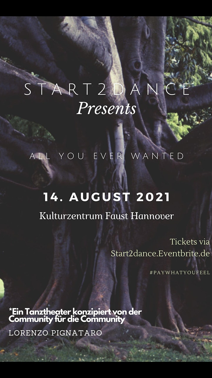 """LIVESHOW - Tanztheater """"All you ever wanted"""" - by Start2Dance: Bild"""