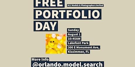 Free Portfolio Day For Orlando Area Models & Photographers- Network & Shoot tickets