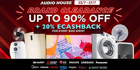 Audio House Brand Clearance Sale tickets