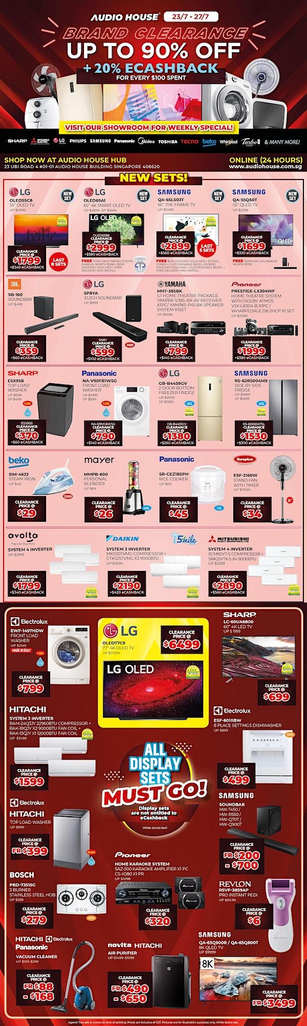 Audio House Brand Clearance Sale image