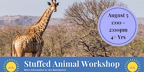 Stuffed Animal Workshop @ Wilber Park (4+) tickets