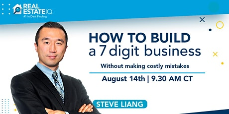 How to build a 7 digit business without making costly mistakes tickets