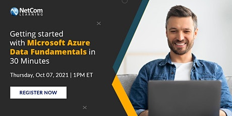 Workshop : Getting started with Microsoft Azure Data Fundamentals in 30 Min tickets