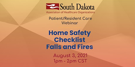 Home Safety Checklist - Falls and Fires tickets