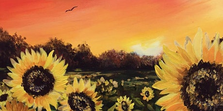 Sunflower Sunset Brush Party – Banbury tickets