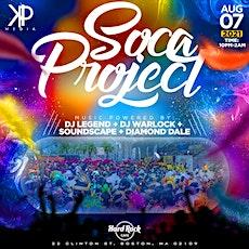 Soca Project tickets