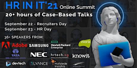 HR&Recruitment in IT Summit'21 tickets