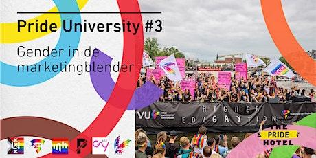 Pride University #3 - Gender in de marketingblender tickets