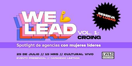 We Lead by Ladies Wine & Design BA entradas