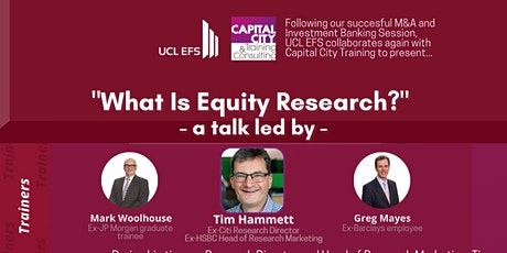 Equity Research Interactive Lunch & Learn tickets