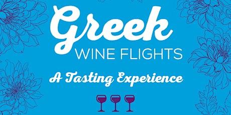 Greek Wine Flights -- A Tasting Experience tickets