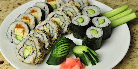 August 14th 6 pm-Sushi Class 101-Soule' Culinary and Art Studio tickets