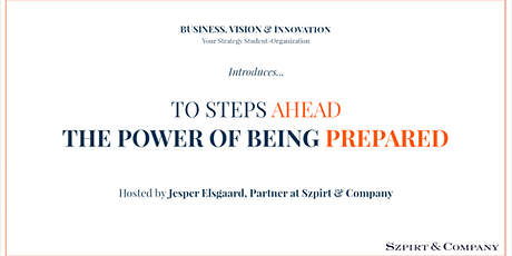 2 STEPS AHEAD. THE POWER OF BEING PREPARED tickets
