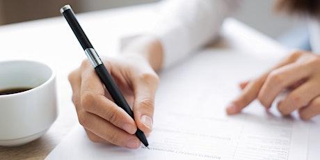 How to Complete Form E--585 Webinar for Non-Profits biglietti