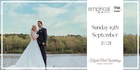 The Empirical Events Wedding fair at Tilgate Park tickets