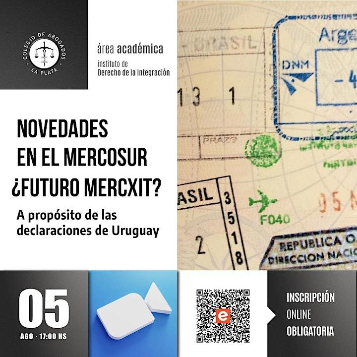 Imagen de MERCOSUR ¿Futuro MERCXIT? A propósito de las declaraciones de Uruguay