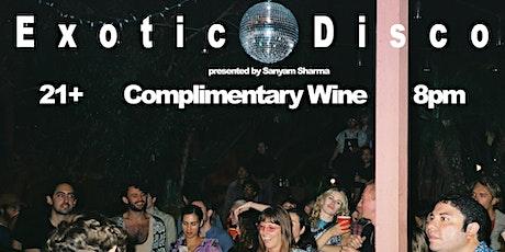 Exotic Disco: A Comedy Show tickets