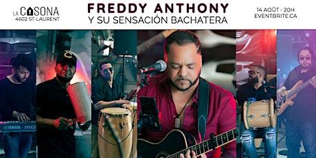 Freddy Anthony y su Sensación Bachatera tickets