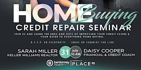 FREE Home Buying Credit Repair Seminar tickets