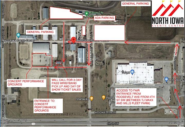 North Iowa Fair Concert Series - All Access Pass image